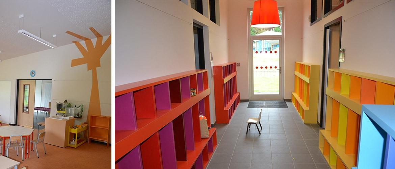 Ecole maternelle à Chateauneuf la Forêt (87)_15