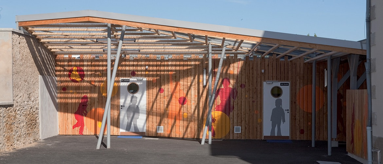 Ecole primaire à La Croisille sur Briance (87)_0