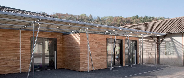 2 salles de classes en batiment modulaire à Solignac (87)_0