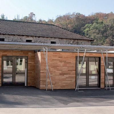 2 salles de classes en batiment modulaire à Solignac (87)