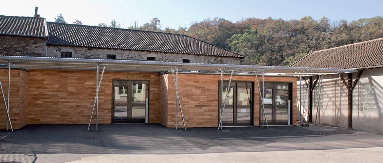 2 salles de classes en batiment modulaire à Solignac (87)_1