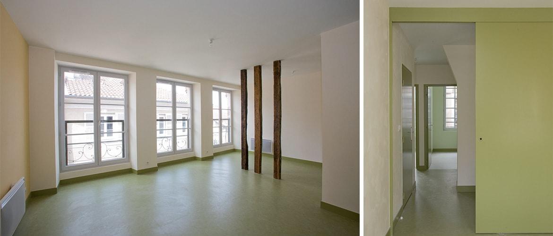 Réhabilitation de 4 logements Limoges (87)_2