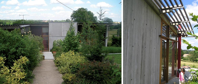 Maison environnementale bois à Couzeix (87)_2