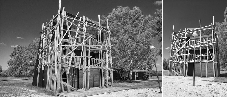 Construction d'un poste de secours à Vassivière (87)_9