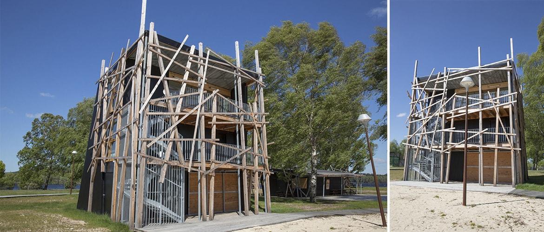 Construction d'un poste de secours à Vassivière (87)_8