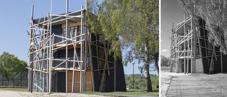 Construction d'un poste de secours à Vassivière (87)_5