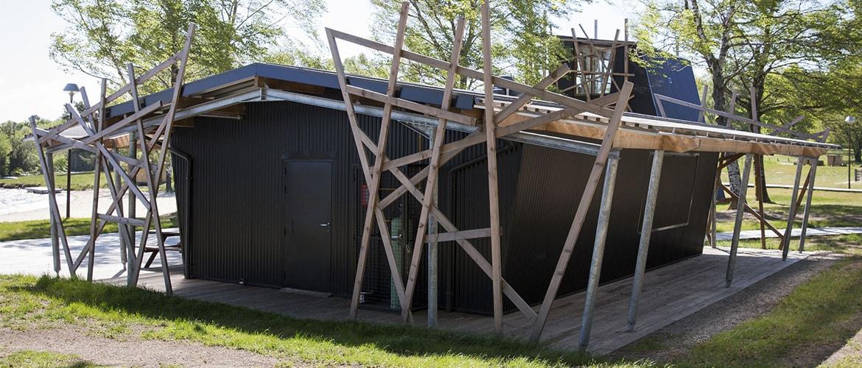 Construction d'un poste de secours à Vassivière (87)_2