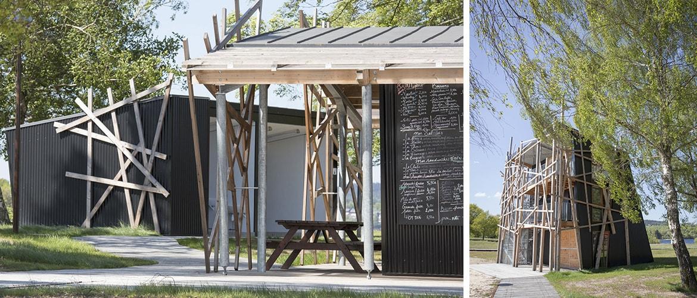 Construction d'un poste de secours à Vassivière (87)_4