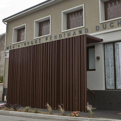 Médiathèque de Bussière Poitevine (87)
