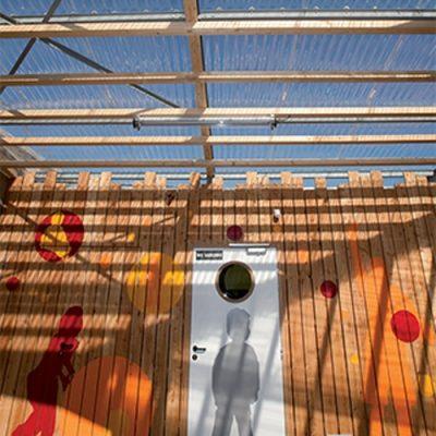 Ecole primaire à La Croisille sur Briance (87)