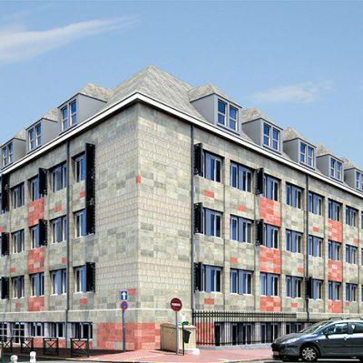Amélioration thermique Lycée Gay Lussac à Limoges (87)