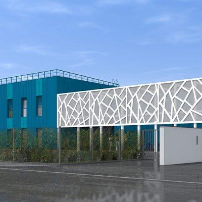Bâtiment ERDF ROYAN