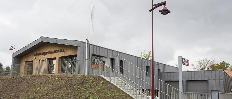 Construction d'une gendarmerie à Nieul (87)_3