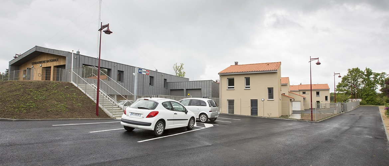 Construction d'une gendarmerie à Nieul (87)_1