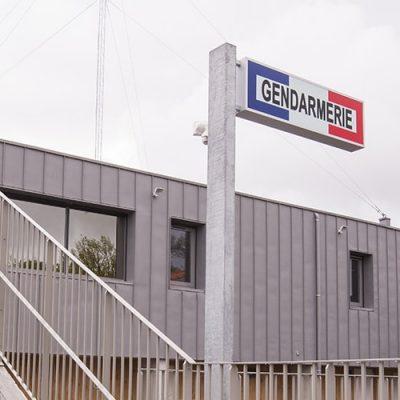 Construction d'une gendarmerie à Nieul (87)