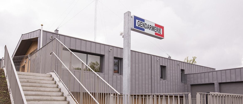 Construction d'une gendarmerie à Nieul (87)_0