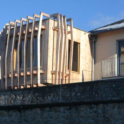 Réaménagement bibliothèque à Peyrat le Château (87)