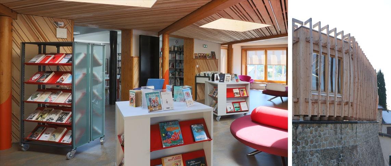 Réaménagement bibliothèque à Peyrat le Château (87)_1