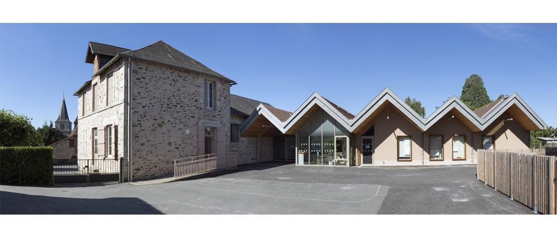 Ecole et Restaurant scolaire à Glanges (87)_0